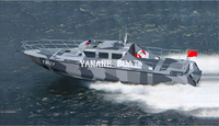 37ft Aluminum Patrol Pilot Fast Speed Rescue Boat